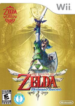 The Legend of Zelda: Skyward Sword (2011, Wii)