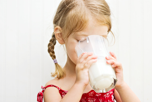Not everyone's toddler drinks milk this easily.