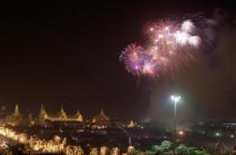 Firework display - Bangkok