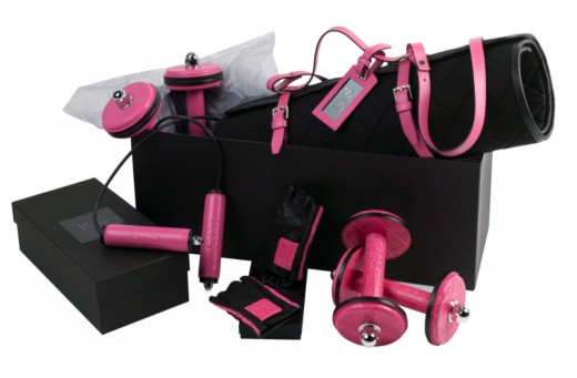 various pink fitness gear - preventing Cancer