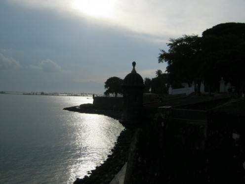 Old San Juan at Sunset