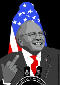 Cheney Without Borders, Bordering on Lunacy  by Maureen Dowd