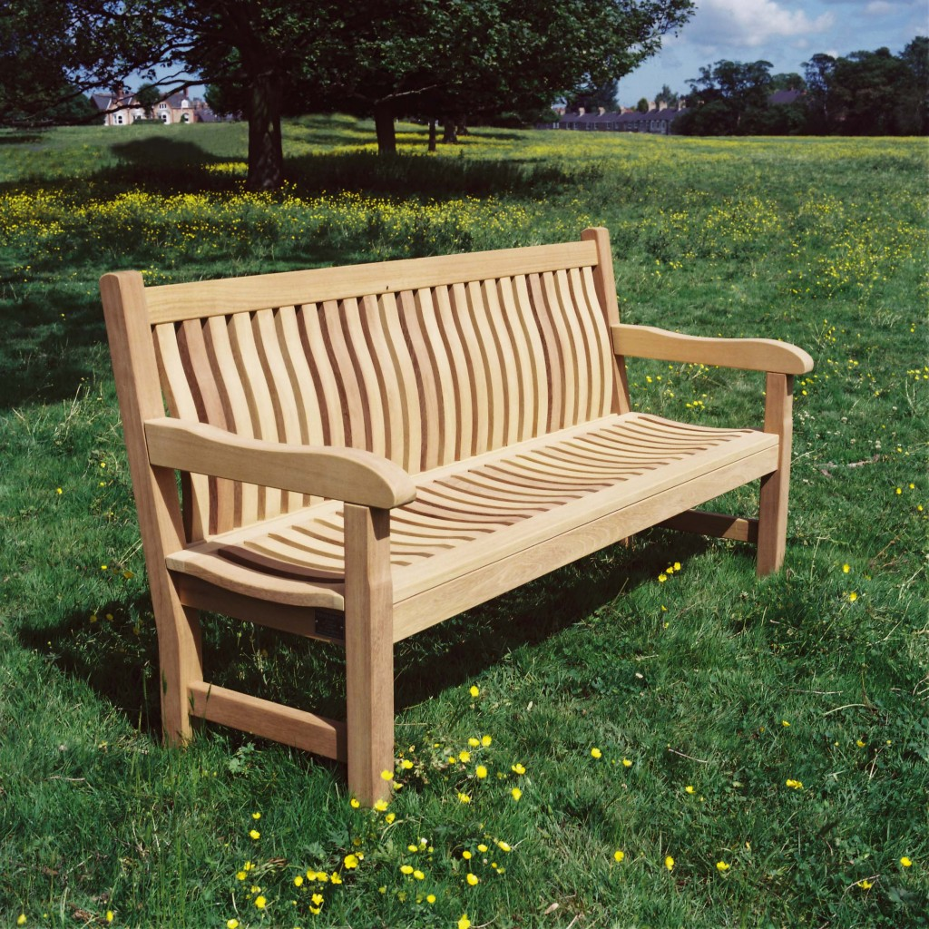 Wooden Patio Bench ~ Wood preserves and caring for outdoor wooden furniture