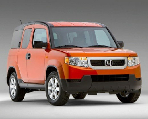 Honda Element, wreck with four other colors to form Voltron.