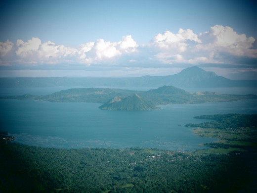 View of Taal Volcano