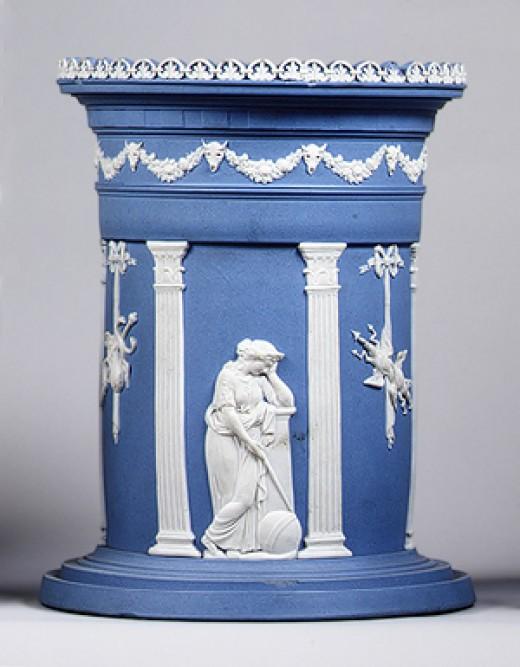 Wedgewood vase designed by John Flaxman late 18th century