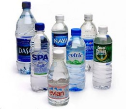 Retailers 'add value' by putting water in a plastic bottle and shipping it across the globe