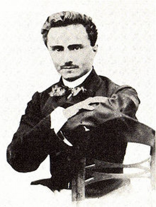 Ippolitio Nievo, who did live, author of the great nineteenth century Italian novel, Confession of an Italian, dying in a shipwreck in 1861 long before its publication under a different title.