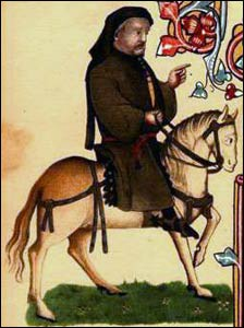 Geoffrey Chaucer, who wrote of people on pilgrimage wonderfully well