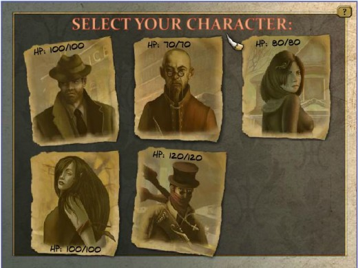 Town of Fears characters