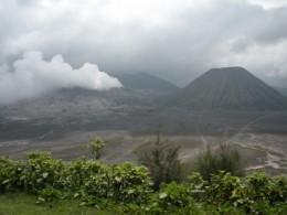 Far view at Cemero Lawang