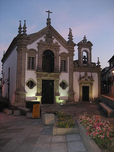 Igrega da Misericordia in the evening
