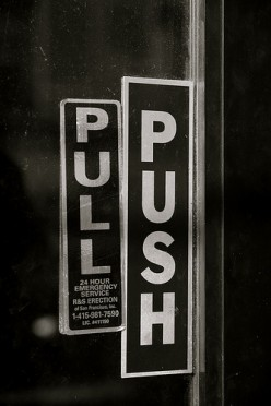 Don't Pull When You Can Push