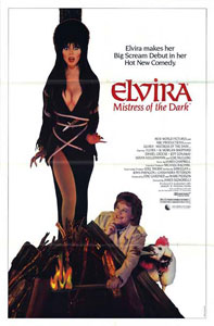ELVIRA, MISTRESS OF THE DARK, PLAYS NAOMI.