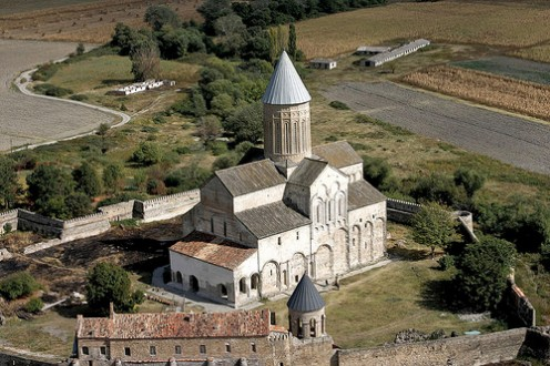 Alaverdi Cathedral in Russian Georgia.
