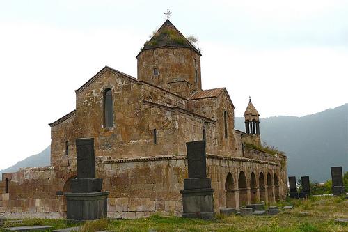 Odzun Basilica in Armenia (see map below).