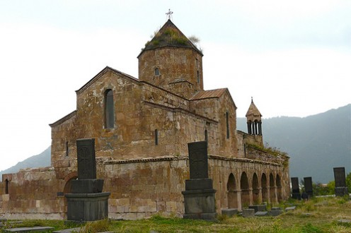 Odzun Basilica in Armenia (see map below).