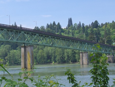 the Sellwood bridge today