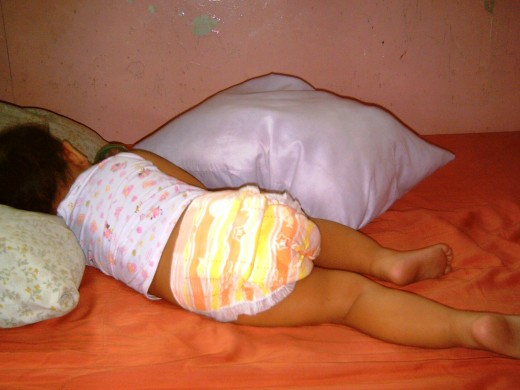 Princess Pauleen sleeping