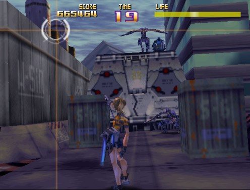 A typical screen capture of game play looks something like this.