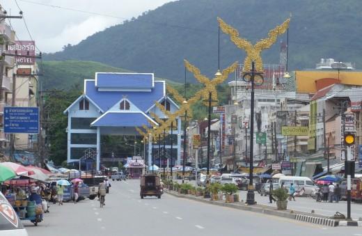 Mae Sai, Thailand and Thai - Burmese border control