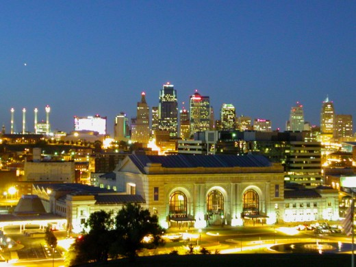 Kansas City at Twilight