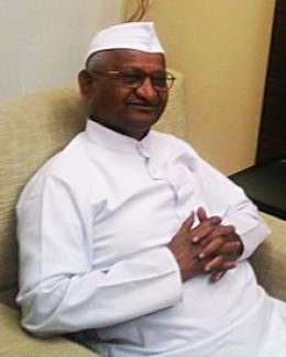 Anna Hazare – the greatest comedian of 2011