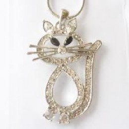 RHINESTONE KITTY!