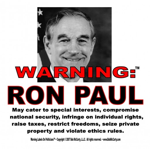 Perhaps Ron Paul's appeal is all fool's gold.