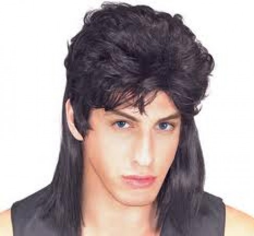 GIRLS, WOULD YOU BE SEEN IN PUBLIC WITH A GUY WITH A MULLET? BE HONEST. MAYBE AT ONE TIME THEY WERE COOL, MULLETS, THAT IS, BUT NOT NOW.