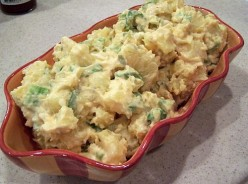 Best Potato Salad EVER (Everything gets better with bacon!)