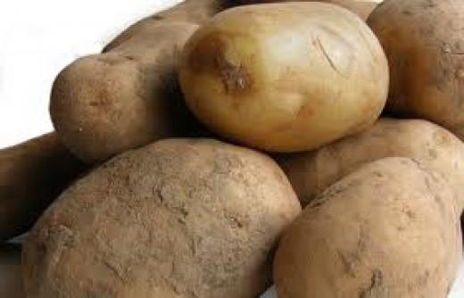Large Potatoes