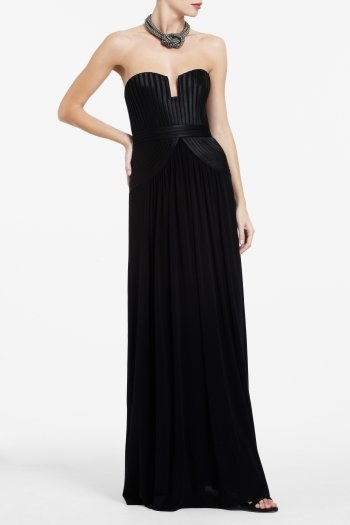 BCBG TASHA STRAPLESS DRESS ACJ6O413-001 $398.00