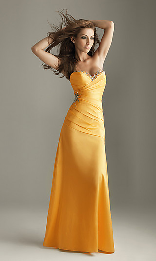 http://www.simplydresses.com Style: NM-6270  Name: Strapless Prom Dress by Night Moves