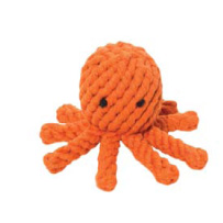 Jax and Bones Rope Toy - Elton the Octopus will not be unstuffed.