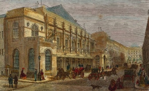 Paris Opera House, ca. 1865