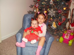 My two daughters, The younger, Juli has congenital hypothyroid.