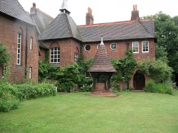 Morris' former home, the Red House, as it stands today in Bexleyheath, England