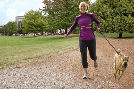 Running can burn off unwanted calories.