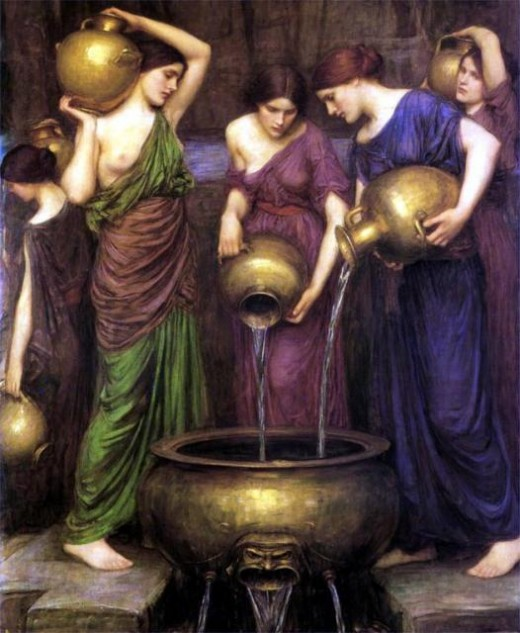 The Danaids by Waterhouse