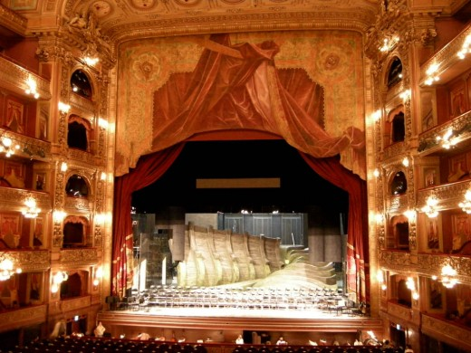 Stage at Teatro Colon
