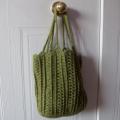 Oval Tote - Free Crochet Pattern