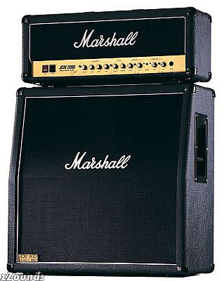 A Marshall Half Stack. This is still plenty loud for most young ears!