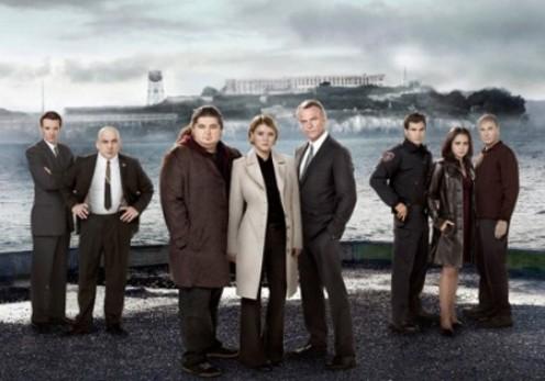 The cast of Alcatraz