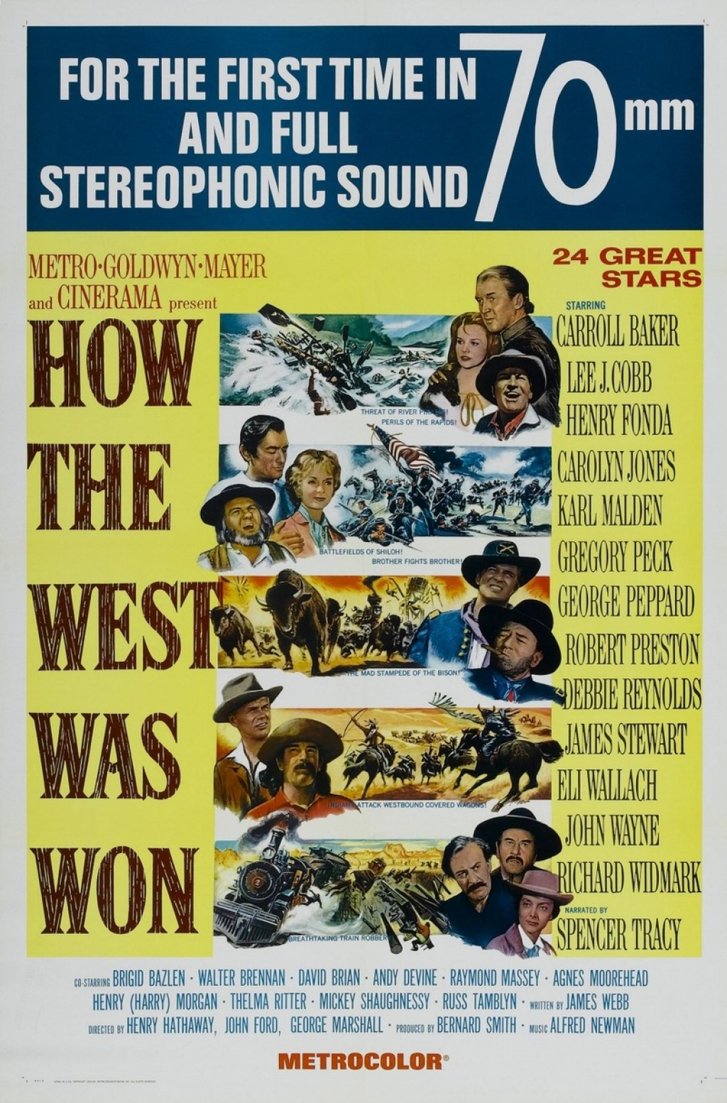 How The West Was Won 1962 Illustrated Reference Hubpages
