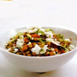 Fantastic Gourmet Recipe: Lentil Salad with Balsamic Vinegar