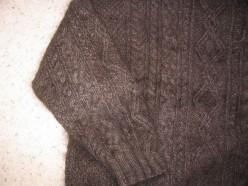 Detail of Fezzik Sweater