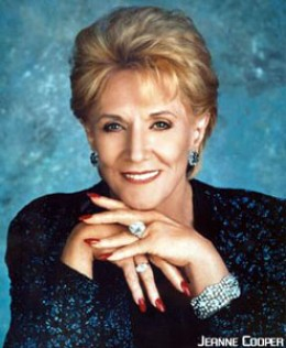 Jeanne Cooper - Katherine Chancellor 1973 to present