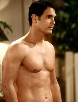 Don Diamont as Brad Carlton - now on the Bold and the Beautiful