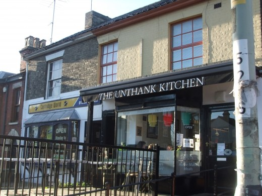 The Unthank Kitchen - popular and long-standing business on Unthank Road.  It is loved by students in particular (although not exclusively) and on warm days the outside area is usually full